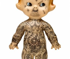 doll and tattoo image