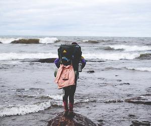 travel, sea, and adventure image