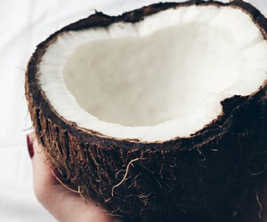 white, coco, and food image