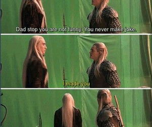 funny, lee pace, and Legolas image
