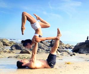 fitness, yoga, and inspiration image