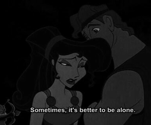 disney, alone, and hercules image