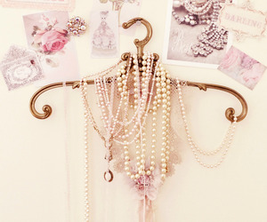 beautiful, lovely, and pearls image