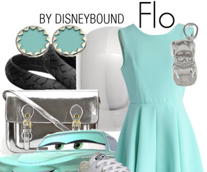 cars, disney, and flo image