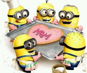 minions and mom image
