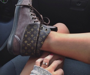 shoes, Louis Vuitton, and style image