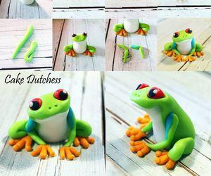 art, diy, and frog image