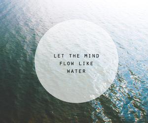 quote and water image