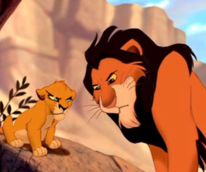 disney, face, and lion king image
