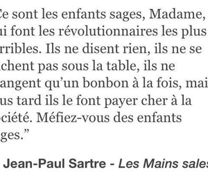 jean-paul sartre, revolution, and quotes image