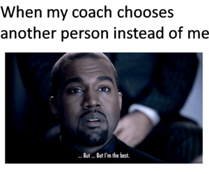 coach, funny, and kanye west image