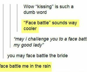 funny, laugh, and kiss image