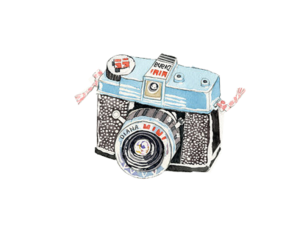 camera, cute, and png image