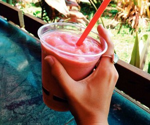 summer, drink, and food image
