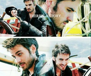 hook, captain hook, and ouat image
