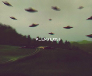 aliens, grunge, and mad image