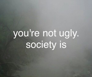 society, ugly, and hipster image