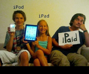 apple, ipod, and iphones image