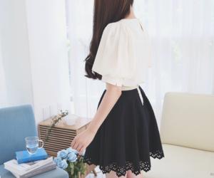 black, shirt, and fashion image