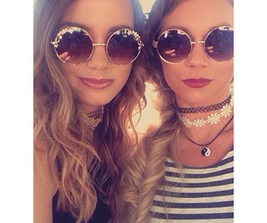 best friends, jewelry, and sunglasses image