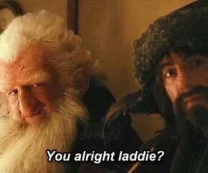 the hobbit, balin, and gloin image