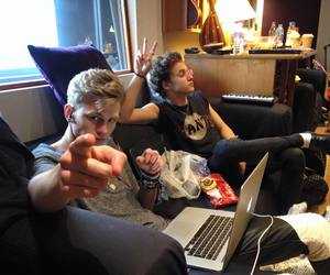 the vamps, tristan evans, and brad simpson image
