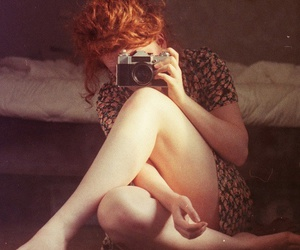 camera, ginger, and picture image
