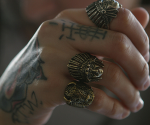 tattoo, rings, and ring image