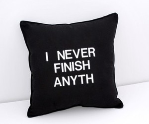 pillow, funny, and text image
