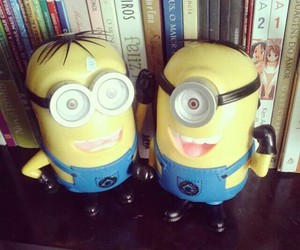 livros, minions, and cute image