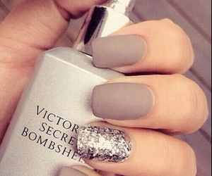 bombshell, nails, and Nude image