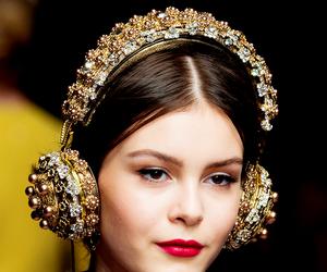 dolce gabbana, fashion, and girl image