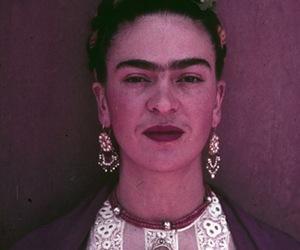 frida kahlo, artist, and woman image
