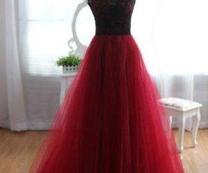 Prom and burgundy prom dresses image
