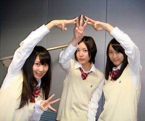 rena, akane, and ske48 image