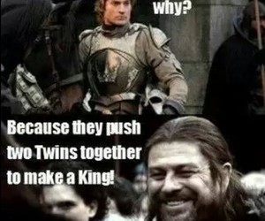 game of thrones, funny, and ned stark image