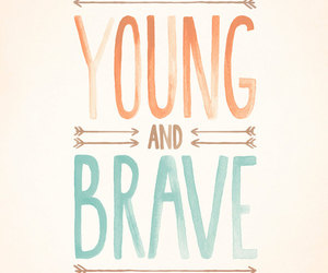 brave and young image
