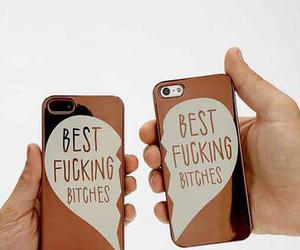 iphone, case, and bitch image
