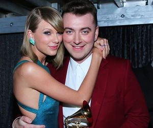 Taylor Swift, sam smith, and grammys image