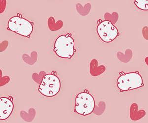 background, hearts, and cute image