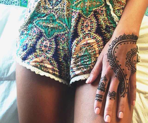 tattoo, henna, and indie image