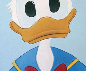 background, donald duck, and wallpaper image