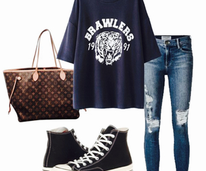 blue, sport, and ootd image