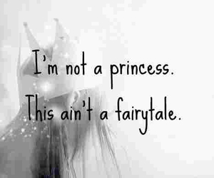 princess, fairytale, and quote image