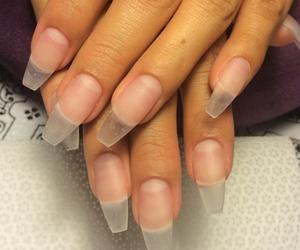 nails, pretty, and nailart image