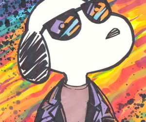 snoopy and cool image