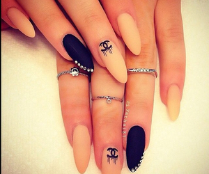 amazing, black, and rings image