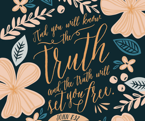 bible and truth image