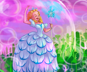 wicked, wicked the musical, and galinda image