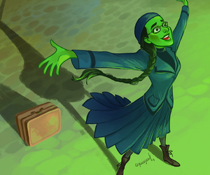 wicked, elphaba, and wicked the musical image